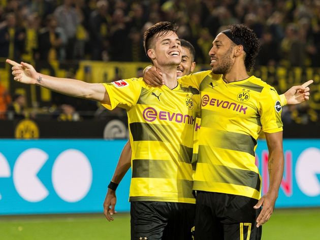Bundesliga'Borussia Dortmund v Borussia Mönchengladbach'