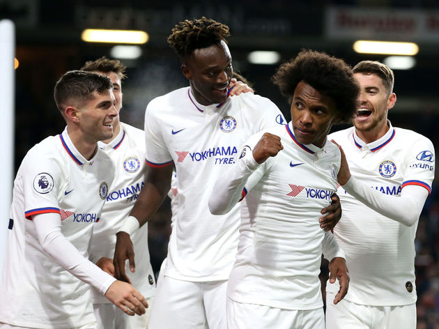 Willian,Christian Pulisic,Tammy Abraham,Jorginho