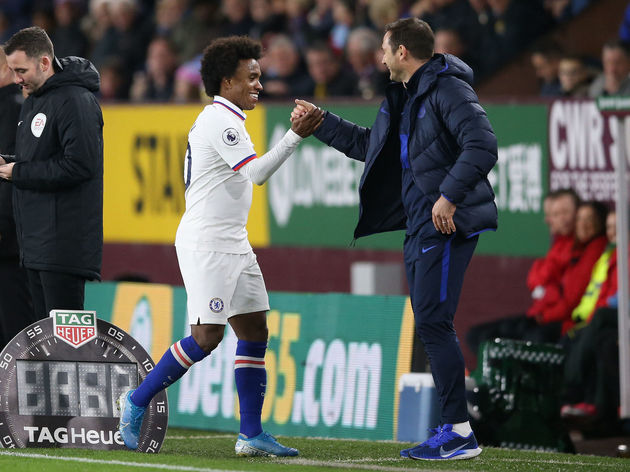 Willian,Frank Lampard