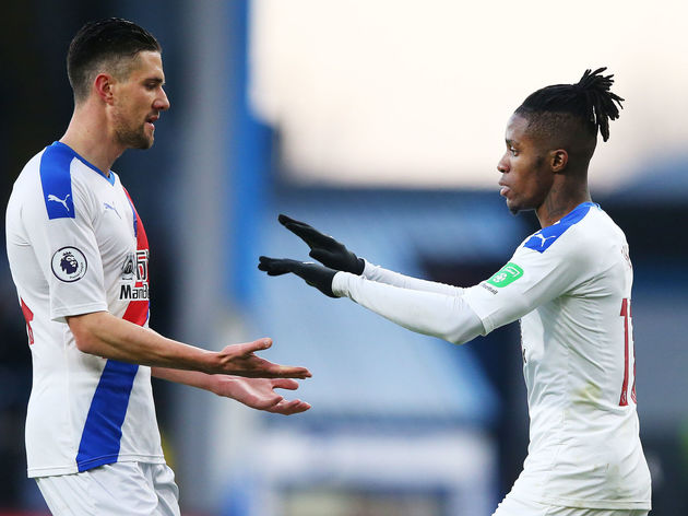 Wilfried Zaha,Martin Kelly