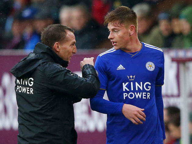 Brendan Rodgers,Harvey Barnes