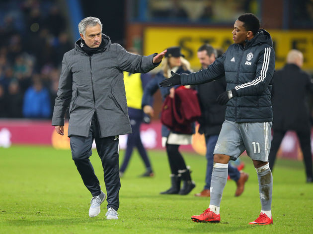 Jose Mourinho,Anthony Martial