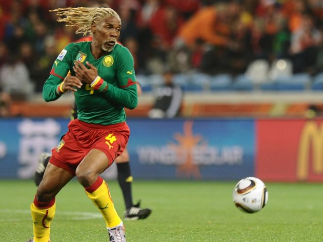 Cameroon's defender Rigobert Song eyes t