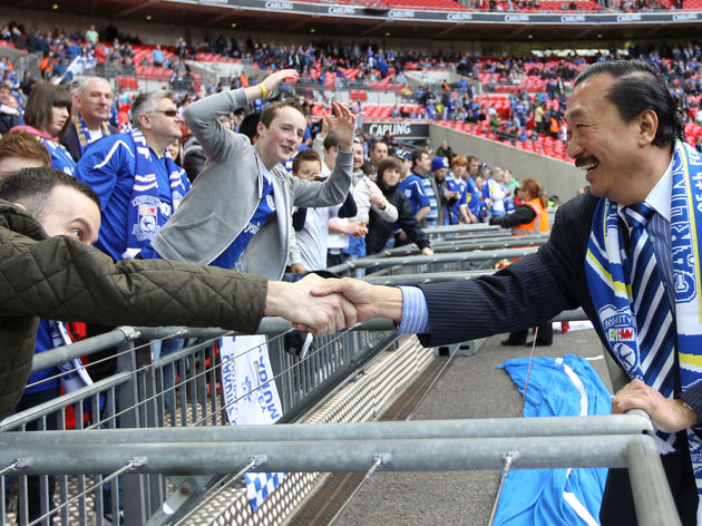 Cardiff City's Malaysian owner Vincent T