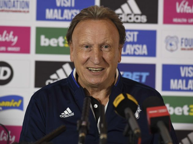 Cardiff City Training and Press Conference