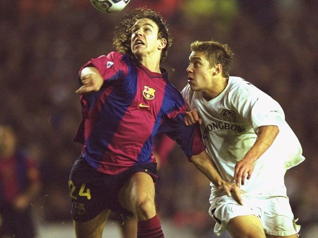 Carles Puyol, Alan Smith