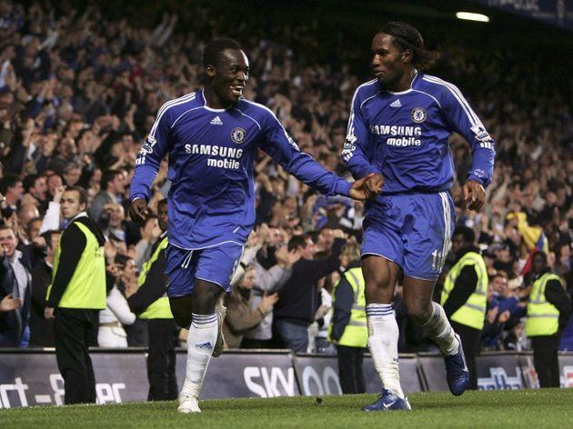 Michael Essien,Didier Drogba