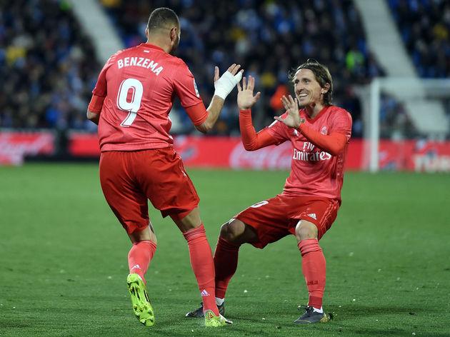 Karim Benzema,Luka Modric