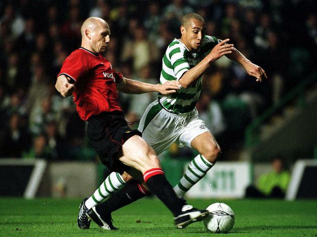 Celtic v Man Utd