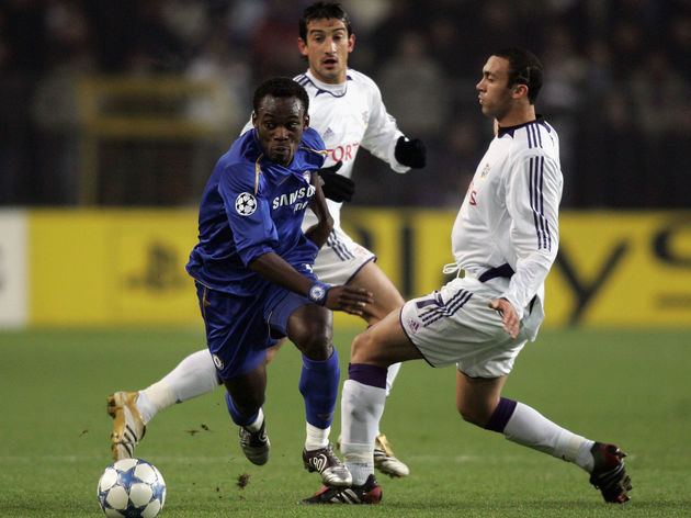 Michael Essien,Anthony Vanden Borre