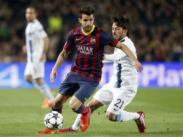 Champions League - FC Barcelona v Manchester City