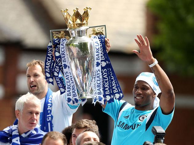 Chelsea FC Premier League Victory Parade