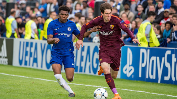 Chelsea FC v FC Barcelona - UEFA Youth League Final