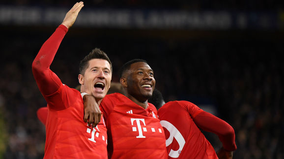 Robert Lewandowski,David Alaba