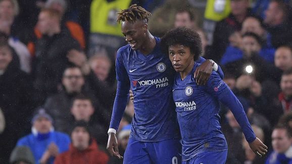 Tammy Abraham,Willian