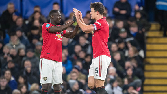 Harry Maguire,Eric Bailly