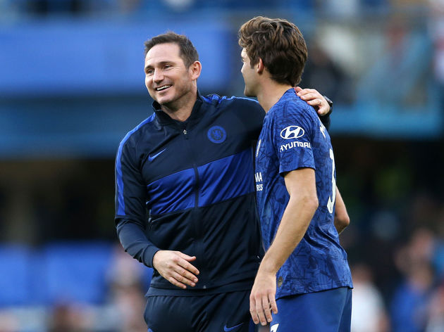Frank Lampard,Marcos Alonso