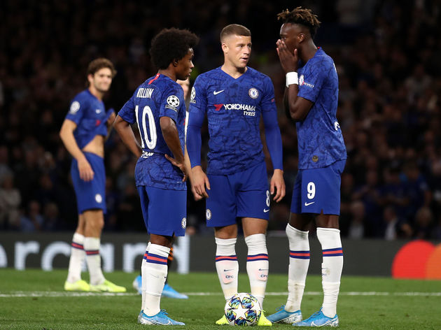 Ross Barkley,Tammy Abraham,Willian
