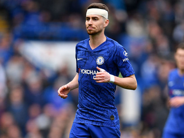 detailed look f0eba e069e Jorginho Eyes Fresh Chelsea Start Under Frank Lampard After ...