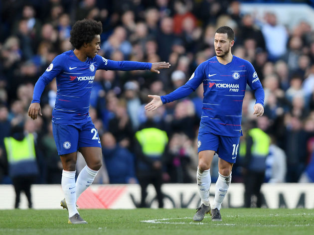 Eden Hazard,Willian