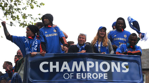 Chelsea football club's Russian owner Ro