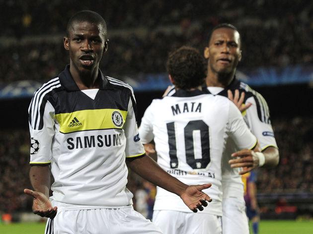 Chelsea's Brazilian midfielder Ramires (