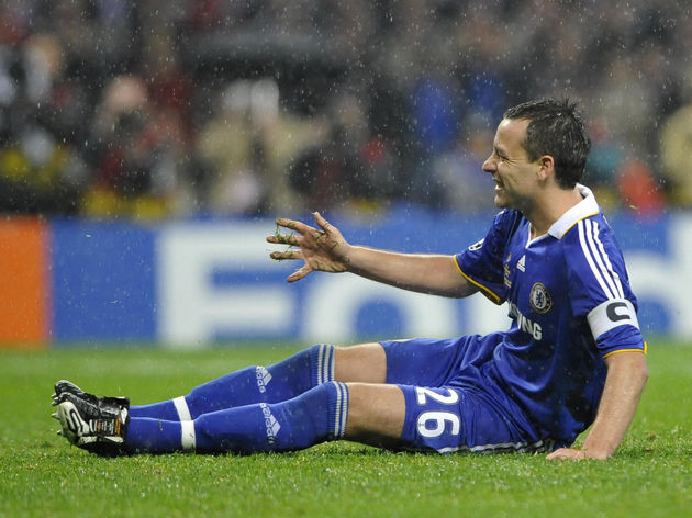 Chelsea's English defender and captain J