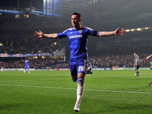 Chelsea's English defender John Terry ce