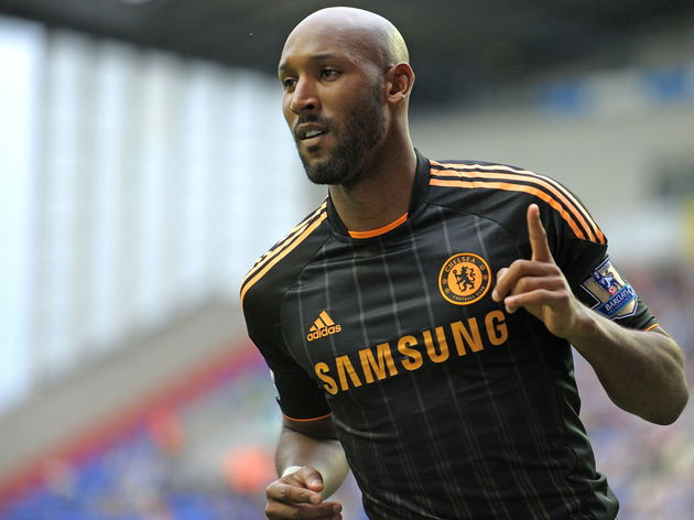 Chelsea's French striker Nicolas Anelka
