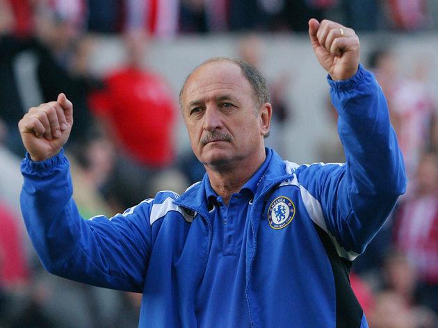Chelsea's Manager Brazilian Luiz Felipe