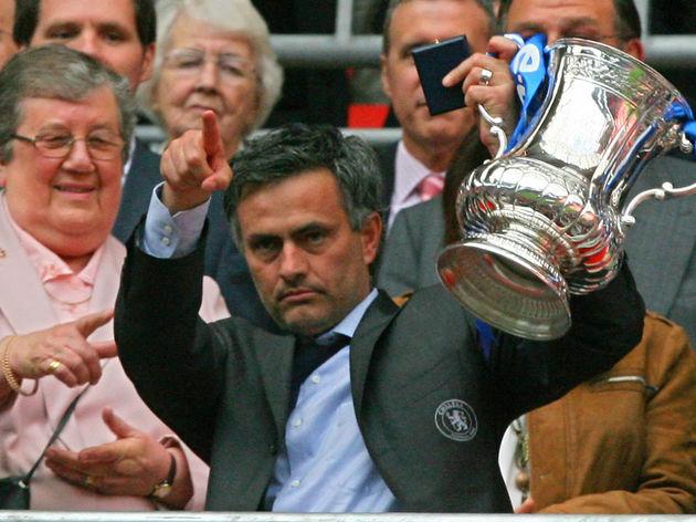 Image result for mourinho fa cup