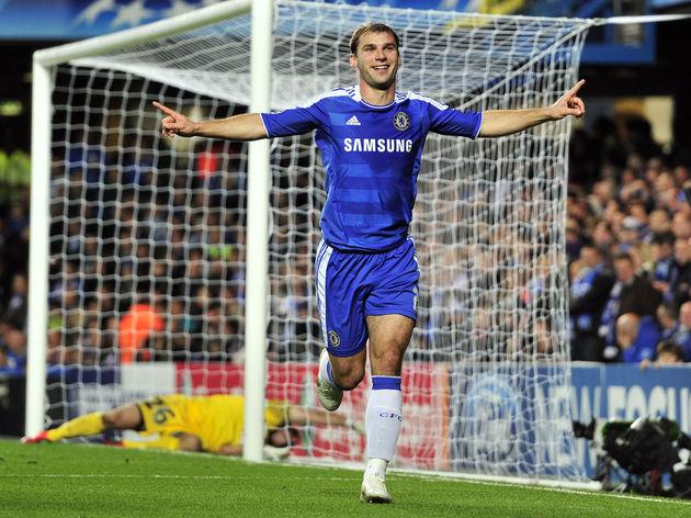 Chelsea's Serbian defender Branislav Iva