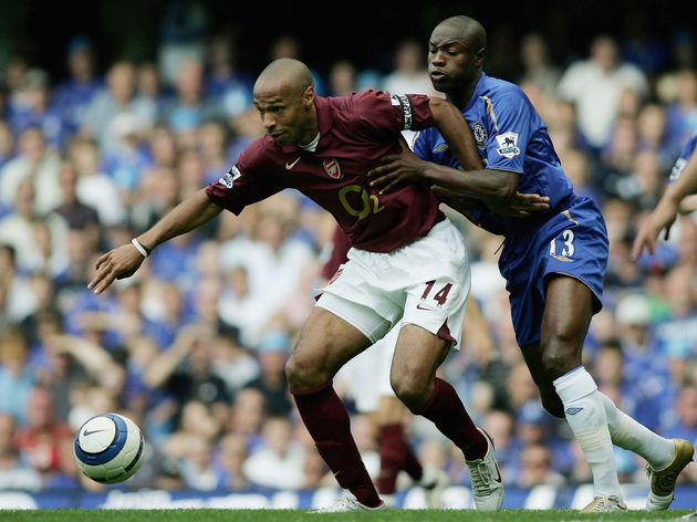 William Gallas,Thierry Henry