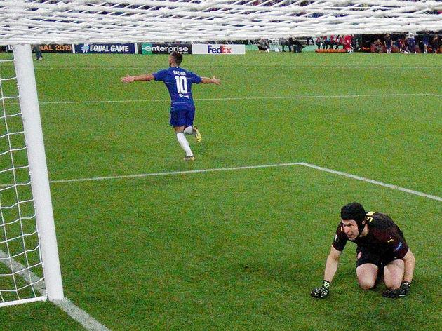 Petr Cech,Eden Hazard