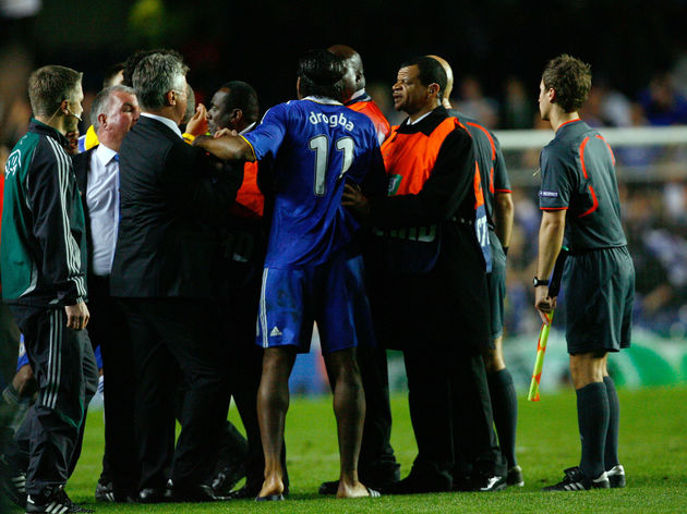 Didier Drogba,Guus Hiddink