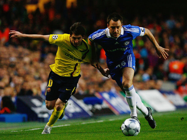 John Terry,Lionel Messi