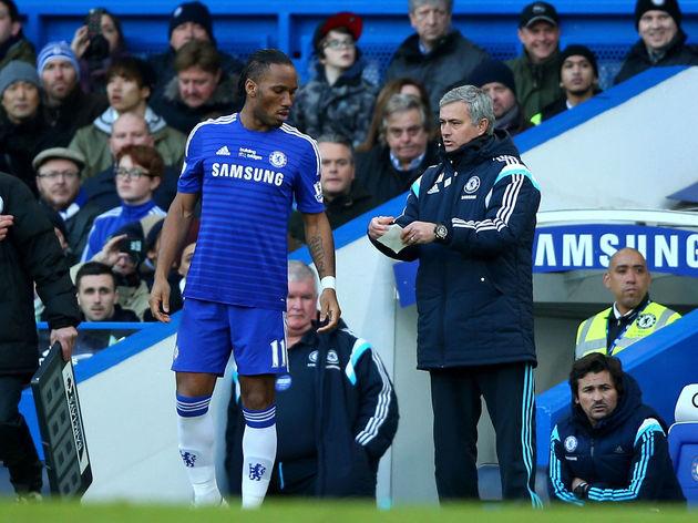 Jose Mourinho,Didier Drogba