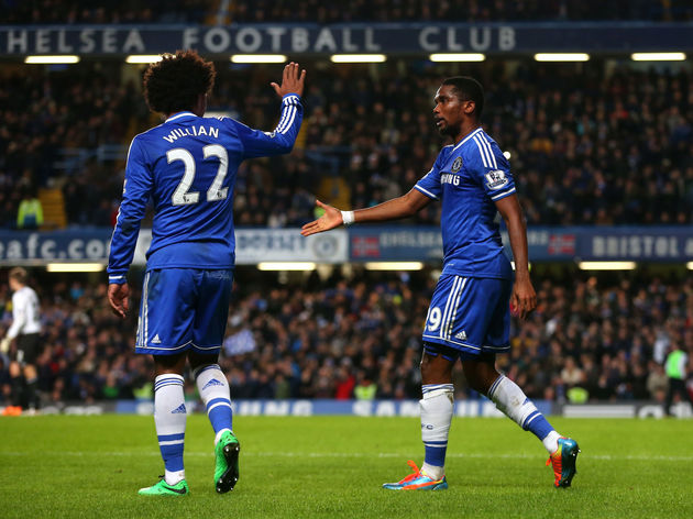 Samuel Eto'o,Willian