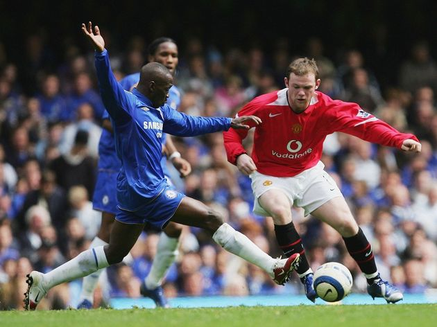 Claude Makelele,Wayne Rooney