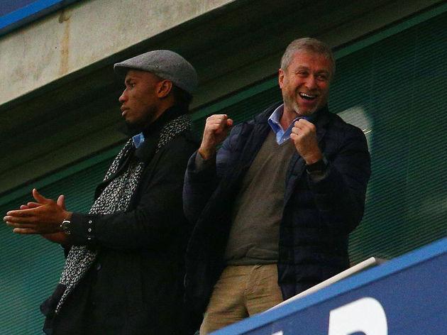 Roman Abramovich,Didier Drogba