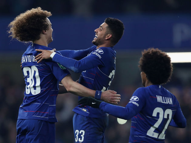David Luiz,Emerson Palmieri,Willian