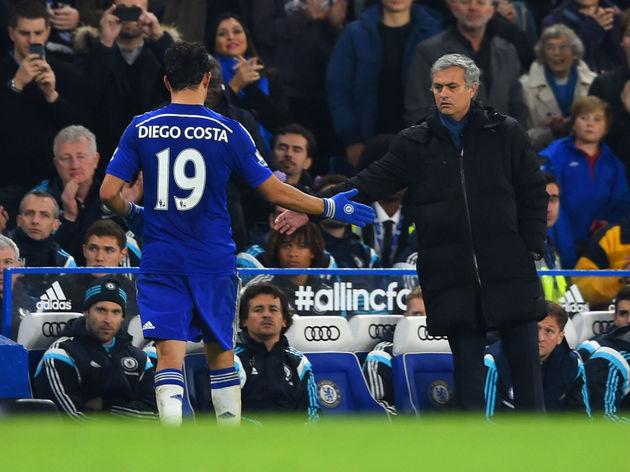 Diego Costa,Jose Mourinho