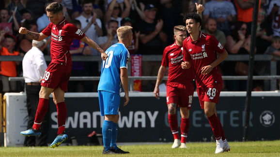 Chester FC v Liverpool - Pre-Season Friendly