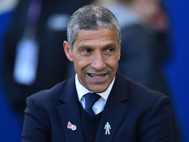 Chris Hughton led Brighton to promotion from the Championship in 2017