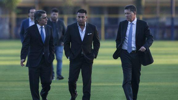 Antonio Mohamed,Jose Romano,Ricardo Pelaez