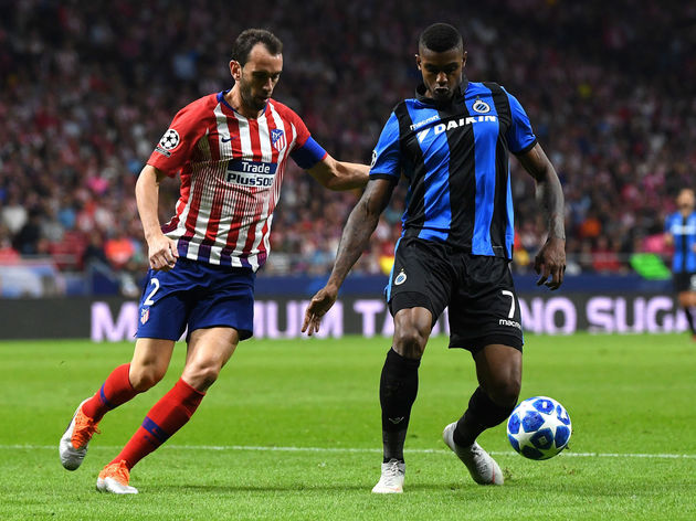 Club Atletico de Madrid v Club Brugge - UEFA Champions League Group A