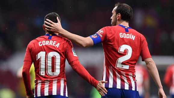 Angel Correa,Diego Godin