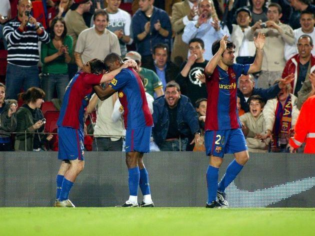 Samuel Etoo,Leo Messi