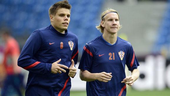 Croatia Training and Press Conference - Group C: UEFA EURO 2012