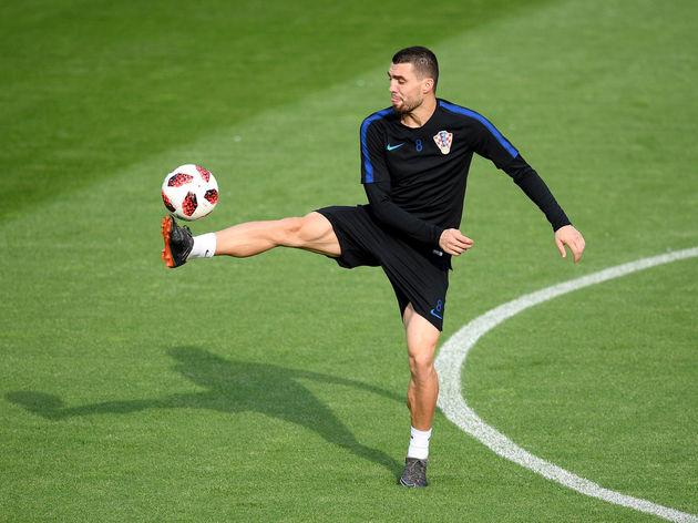 Croatia Training Session - 2018 FIFA World Cup Russia